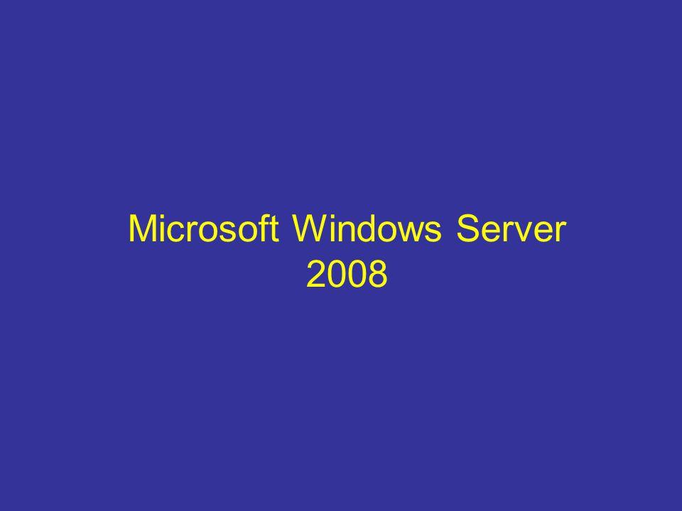 Edice W2012 serveru Windows Server 2012 Standard ( max 2 VM ) Windows Server 2012 Datacenter ( neomezený počet VM ) Windows Server 2012 Foundation – pro max.