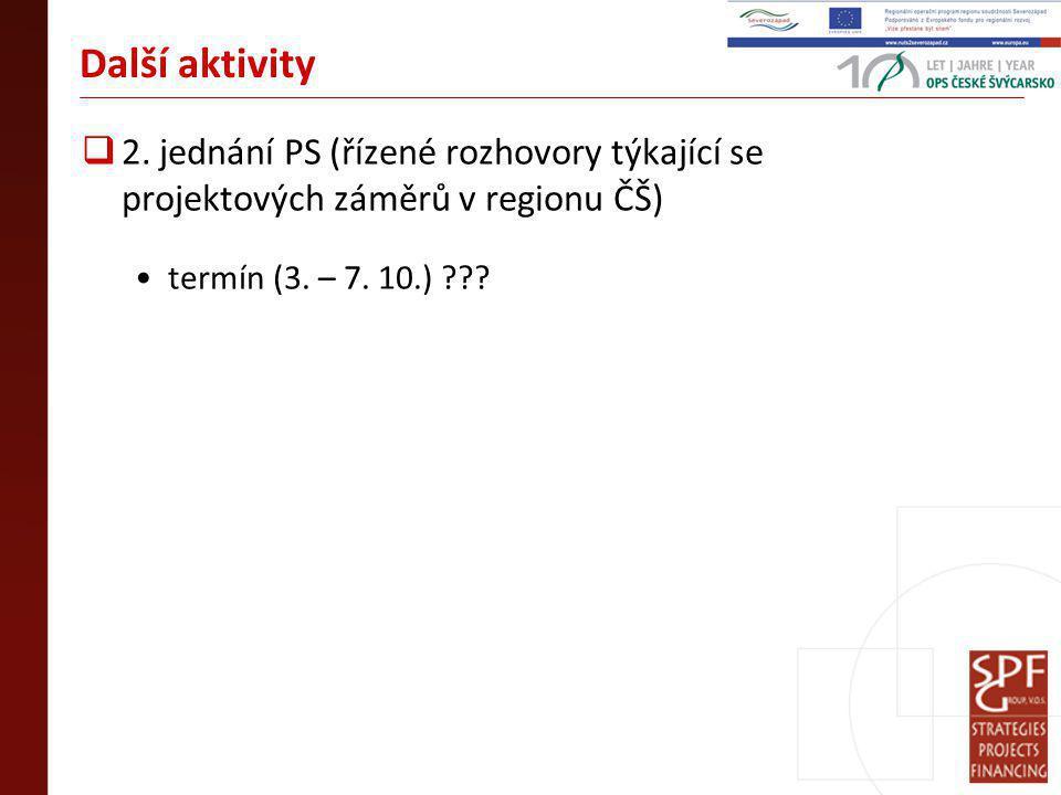 Další aktivity  2.