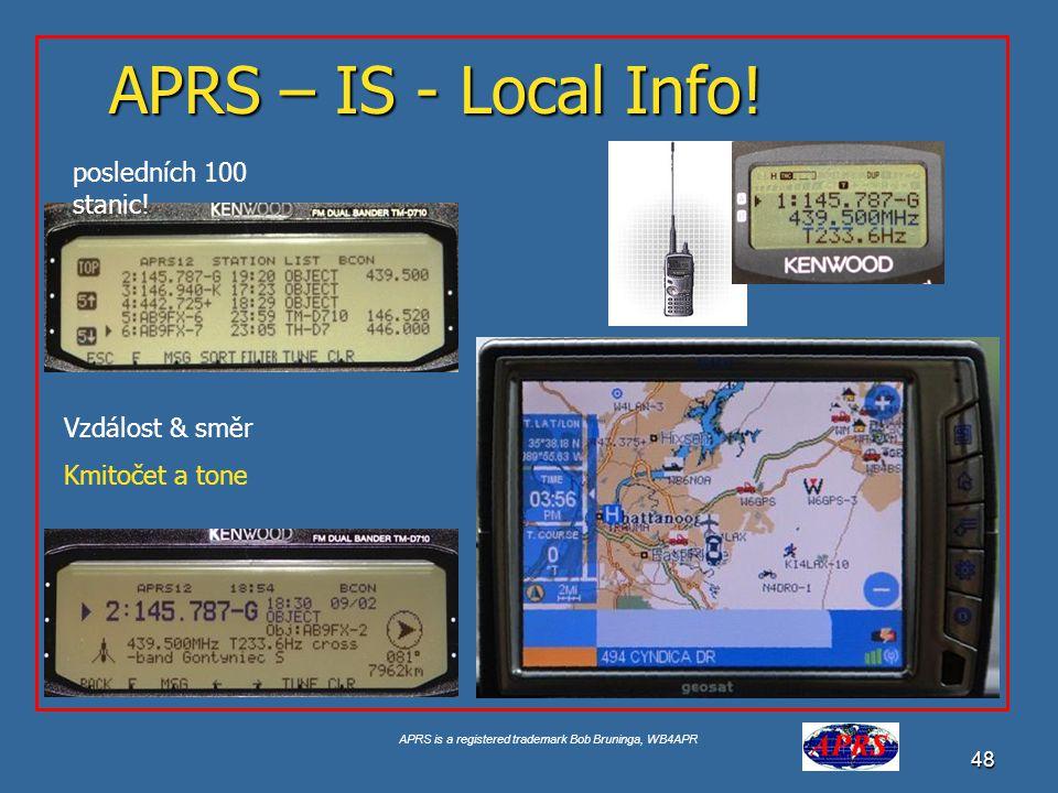 APRS is a registered trademark Bob Bruninga, WB4APR 49 The New-N Paradigm 2005  APRS Generic Paths vznikly před 13 lety, prošly značným vývojem a projevily se zásadní problémy, které způsobovali potíže v hustěji osídlených místech.