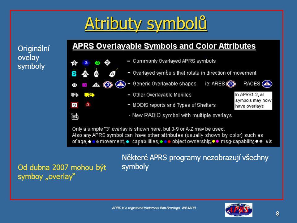 APRS is a registered trademark Bob Bruninga, WB4APR 9 Findu.com internetový interface Internetové sledování které vytvořil Steve Demise – K4HG