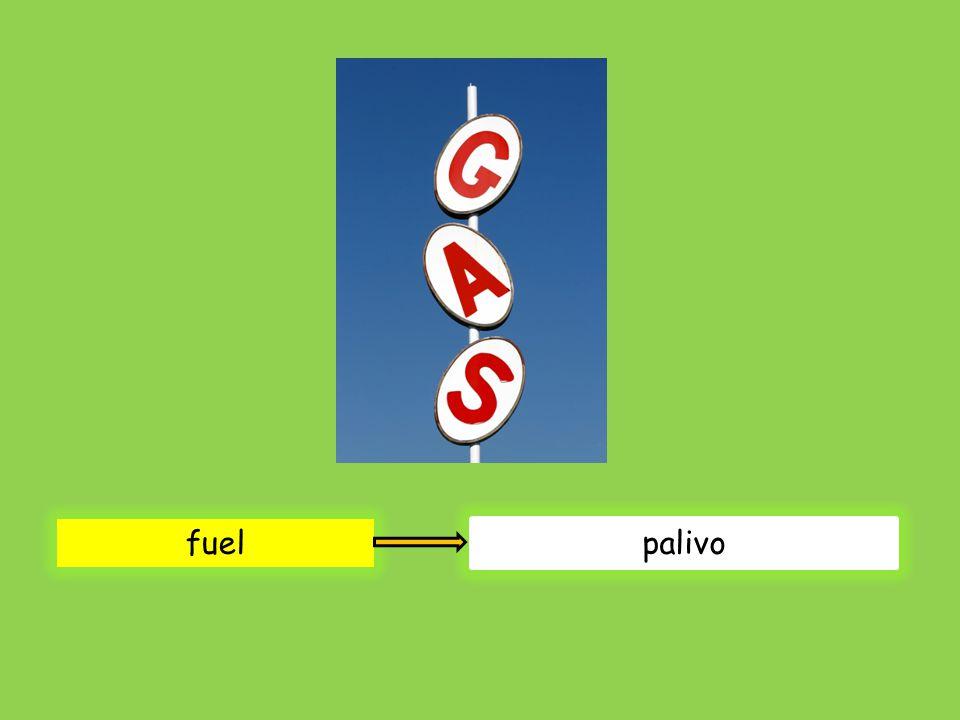 fuel palivo