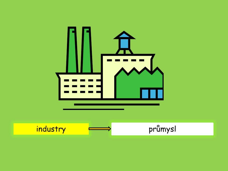 industry průmysl