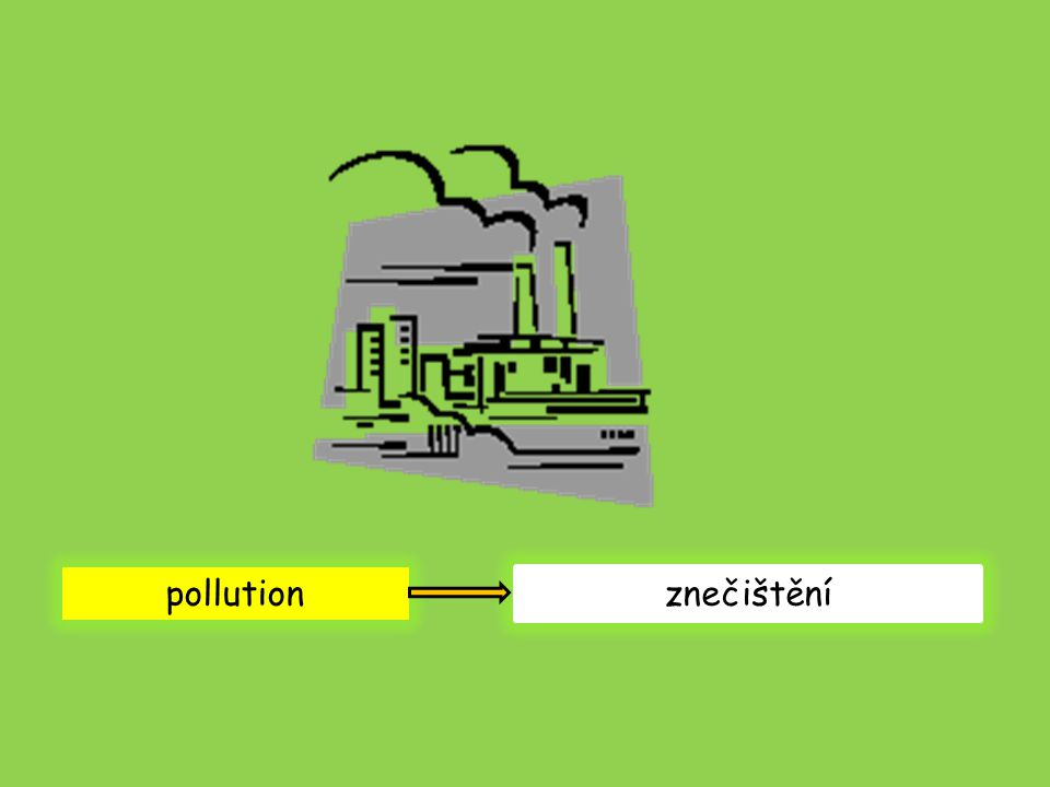 pollution znečištění