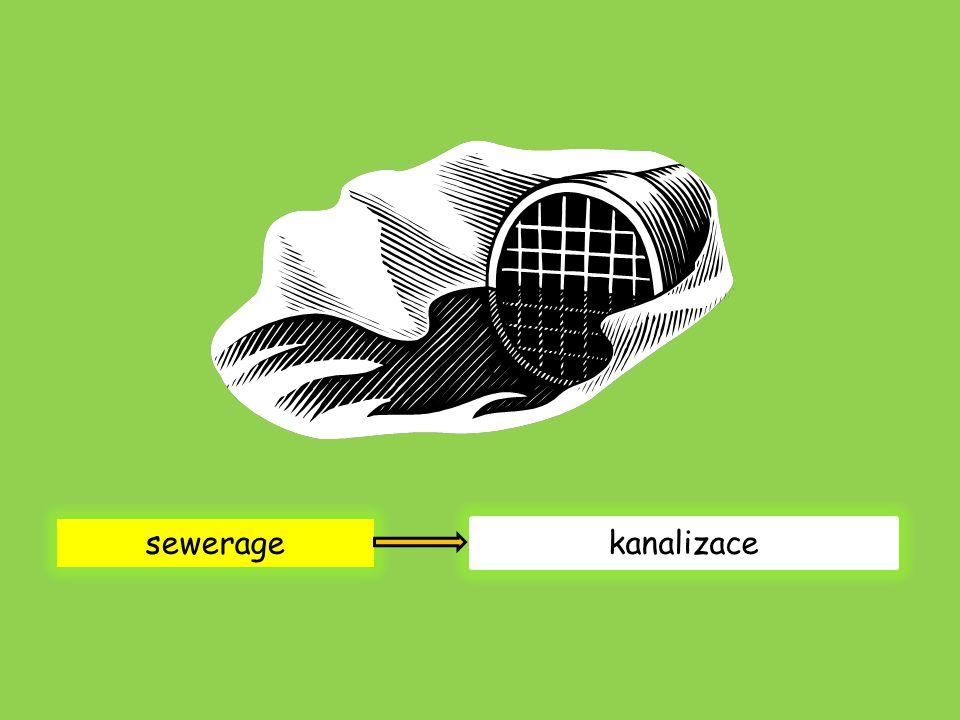 sewerage kanalizace