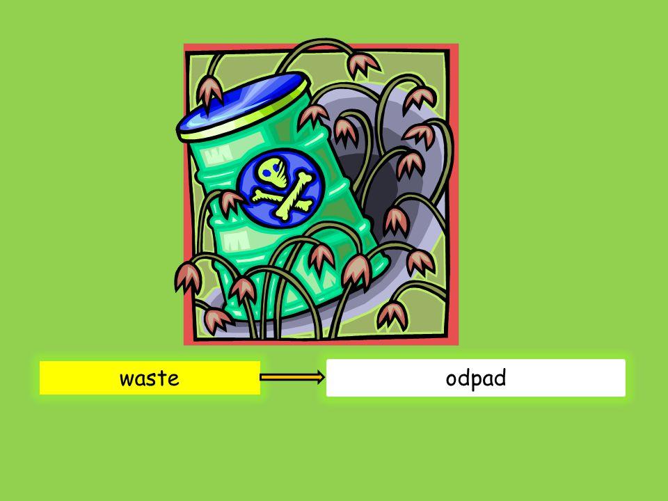 waste odpad