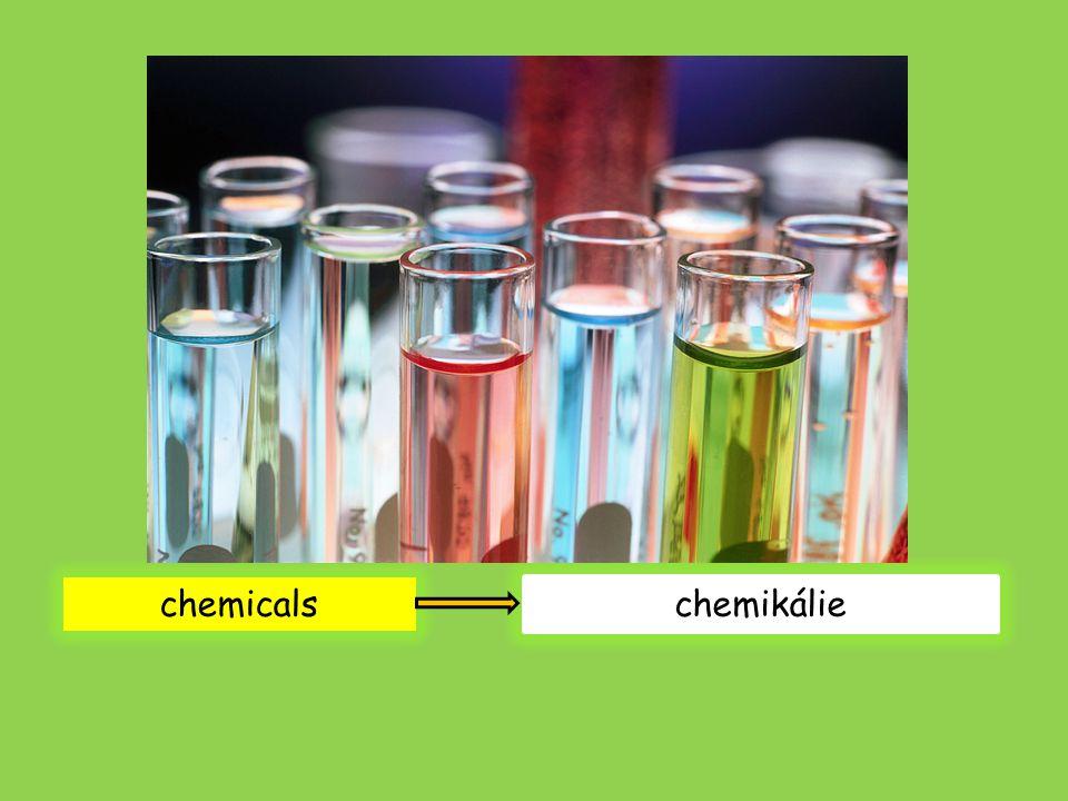 chemicals chemikálie