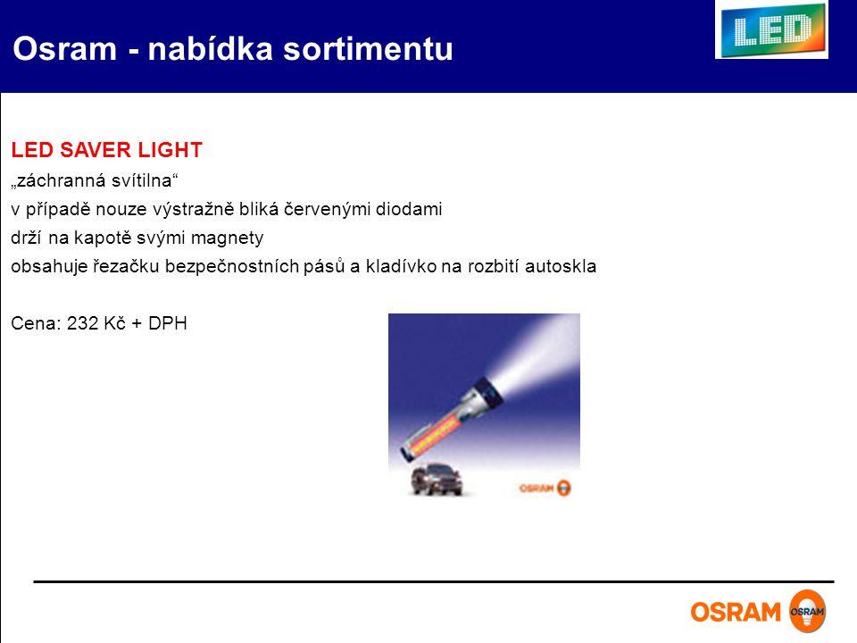 """LED SAVER LIGHT """"záchranná svítilna"""" v případě nouze výstražně bliká červenými diodami drží na kapotě svými magnety obsahuje řezačku bezpečnostních pá"""