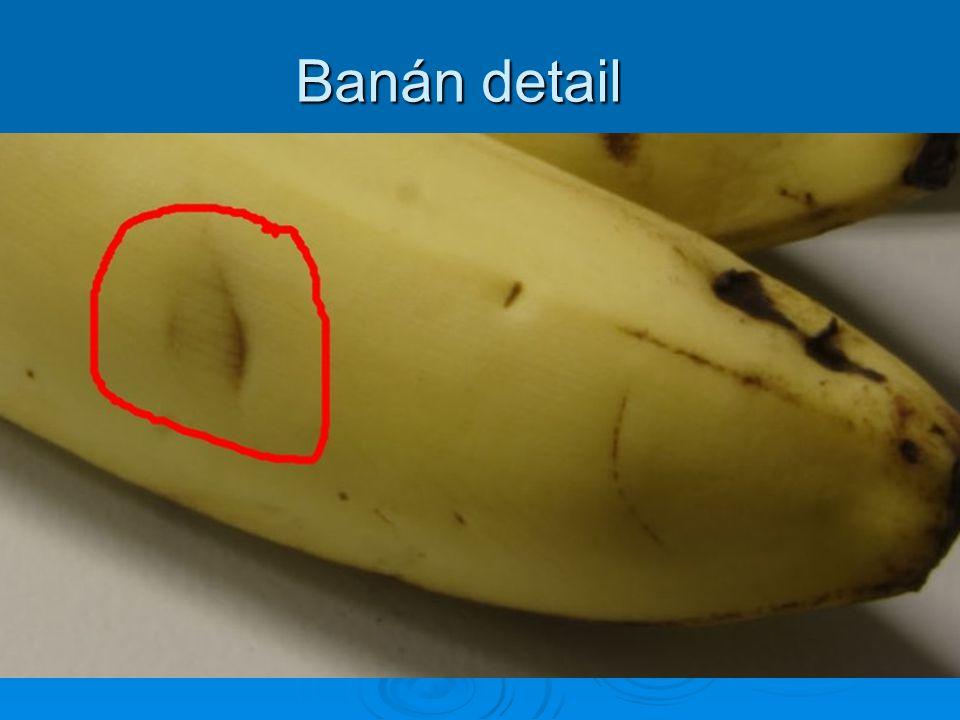Banán detail