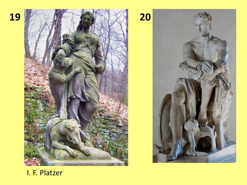 19 I. F. Platzer 20