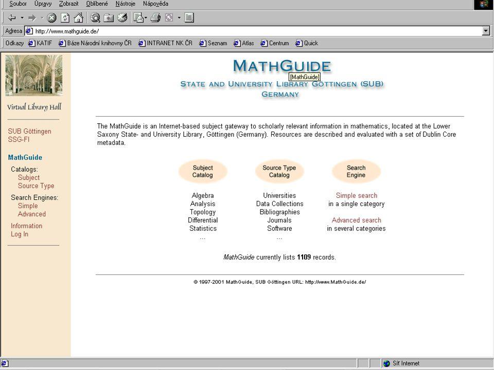 Jak funguje jednotná informační brána – pohled do zákulisí: MetaLib, SFX, zajištění provozu v ÚVT UK