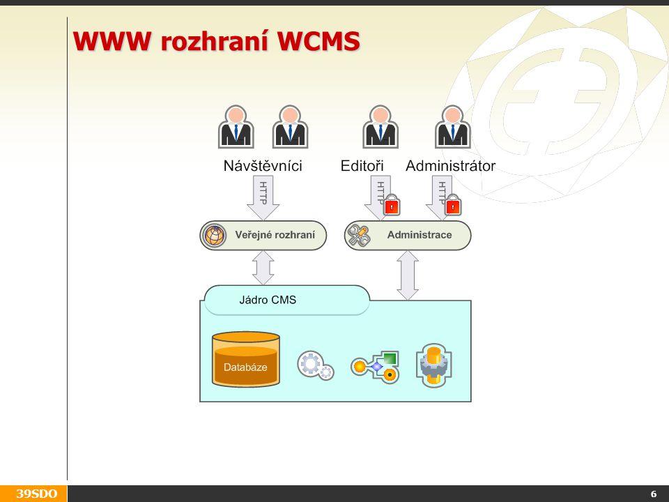 39SDO WWW rozhraní WCMS 6