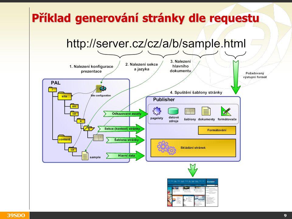 39SDO 9 Příklad generování stránky dle requestu