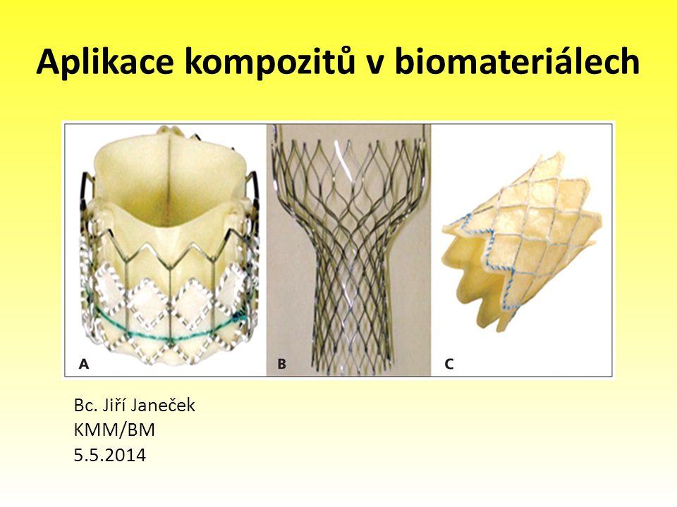 Aplikace kompozitů v biomateriálech Bc. Jiří Janeček KMM/BM 5.5.2014