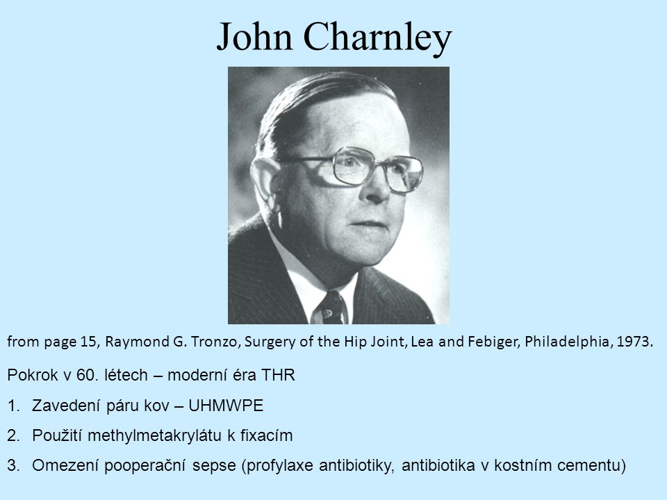 John Charnley from page 15, Raymond G.