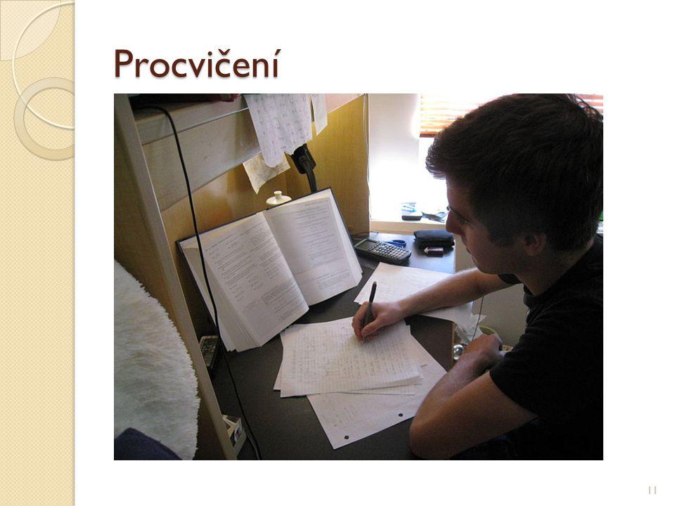 Procvičení 11