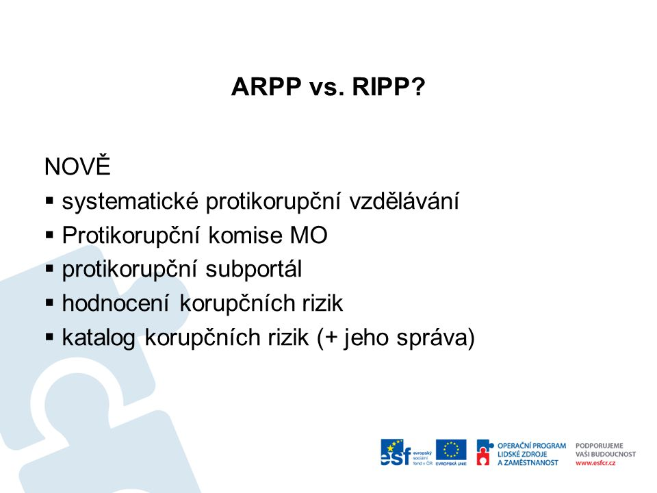ARPP vs. RIPP.