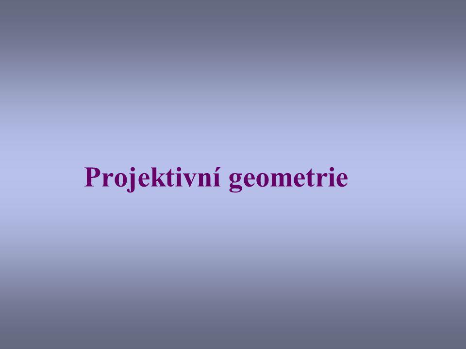 Projektivní geometrie