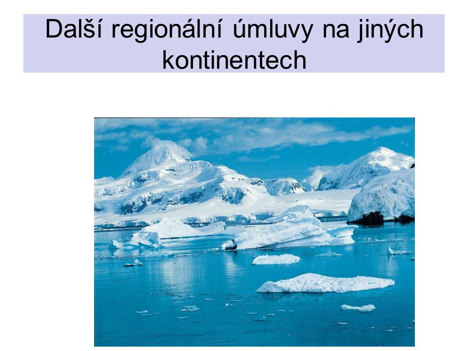 Další regionální úmluvy na jiných kontinentech