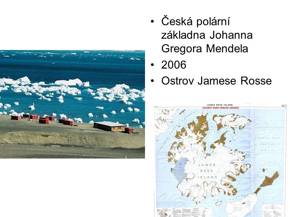 Česká polární základna Johanna Gregora Mendela 2006 Ostrov Jamese Rosse