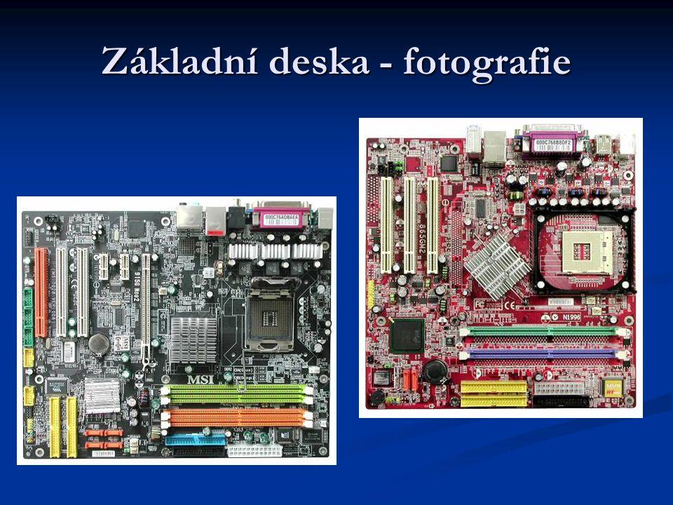 Základní deska - fotografie