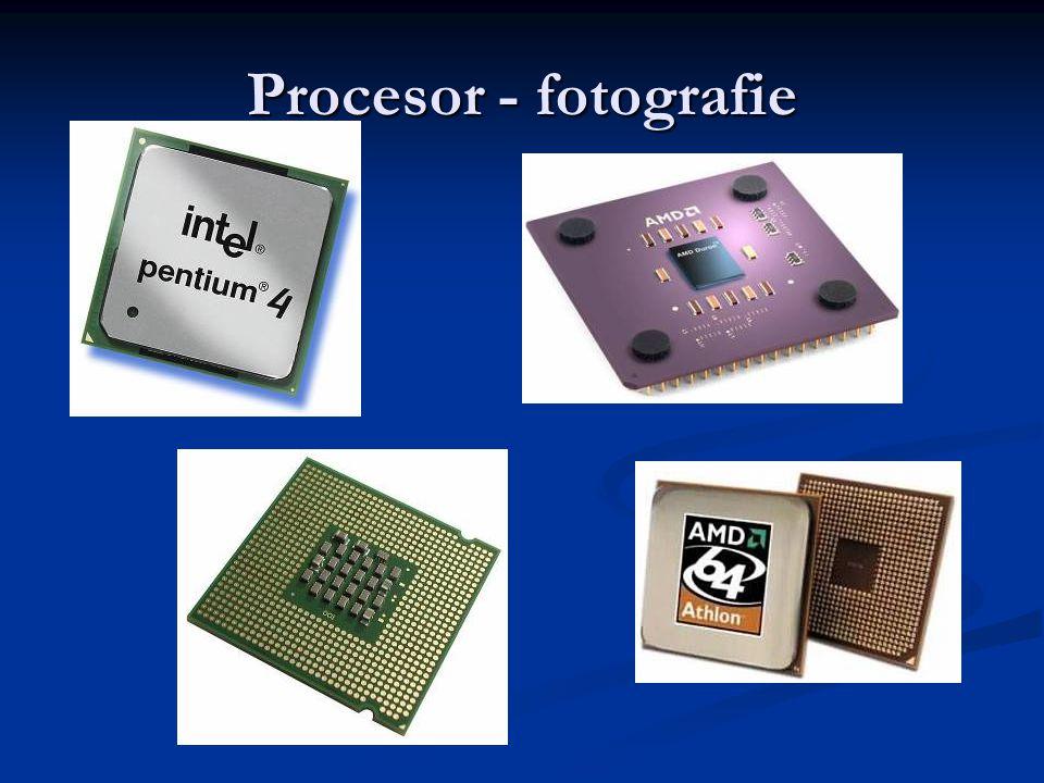 Procesor - fotografie