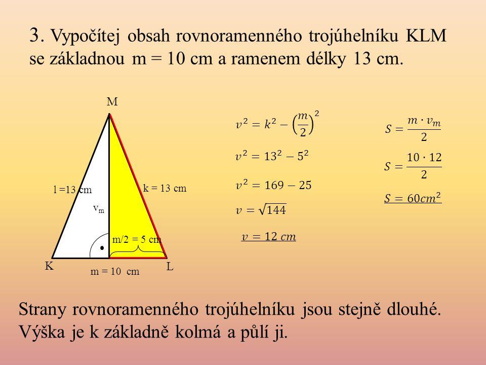 4.Kosočtverec má úhlopříčku délky 21 cm a stranu délky 12 cm.