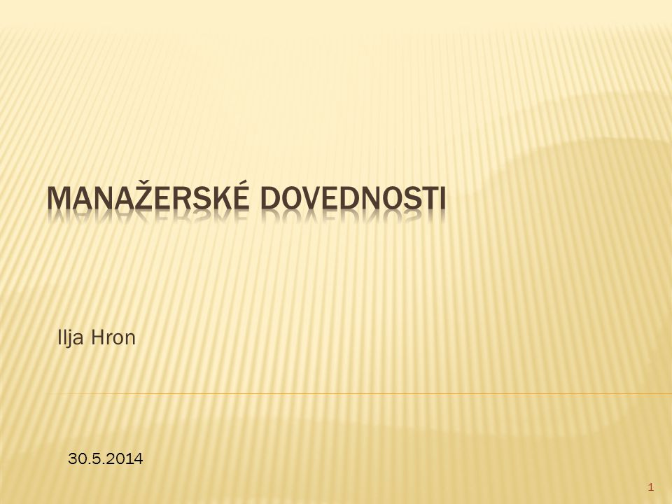 Ilja Hron 1 30.5.2014