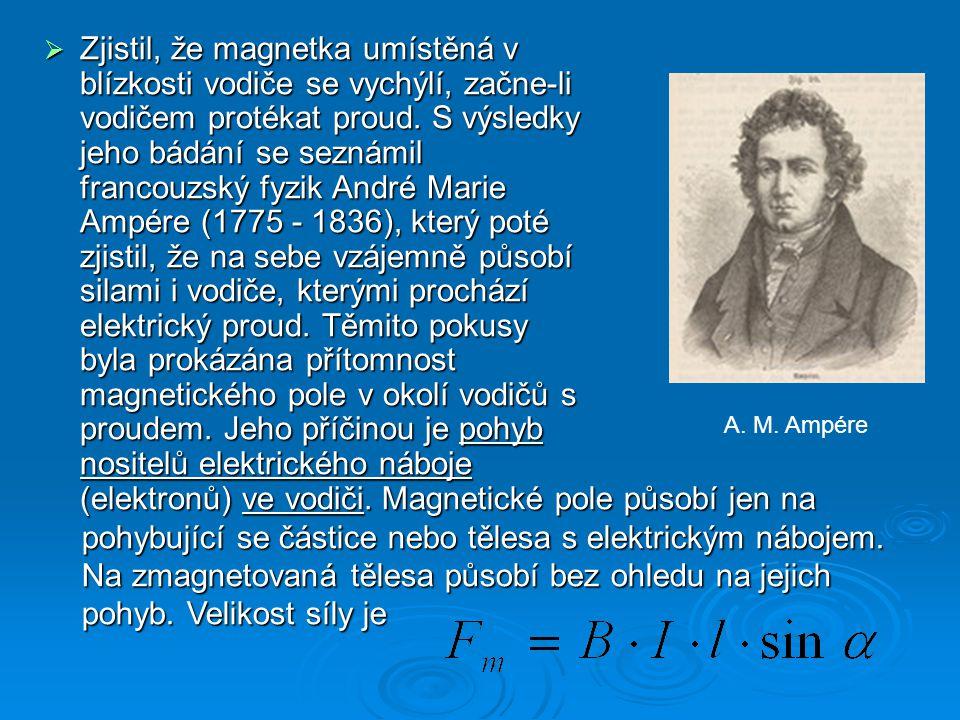 Lorentzova síla  Lorentzova síla je síla pojmenována po Hendrik Antoon Lorentzovi, působí na náboj (příp.