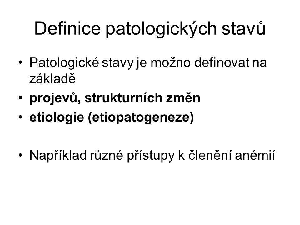 Všeobecná patofyziologie A: Zdraví a nemocA: Zdraví a nemoc.