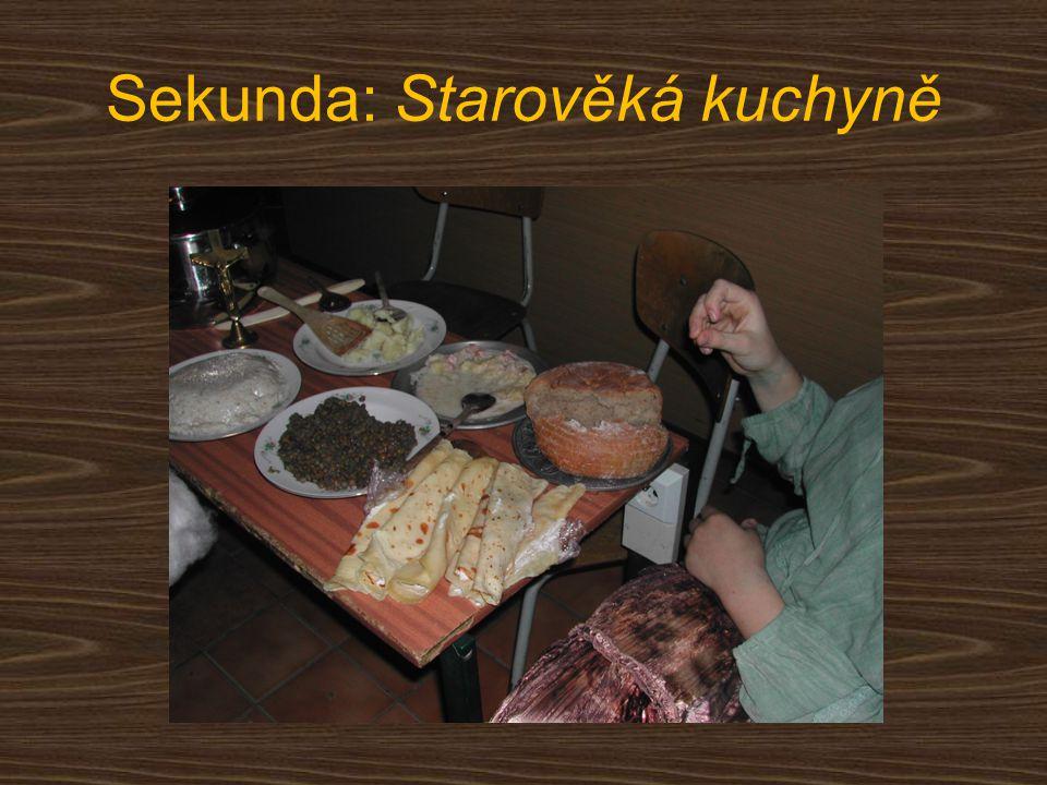 Sekunda: Starověká kuchyně