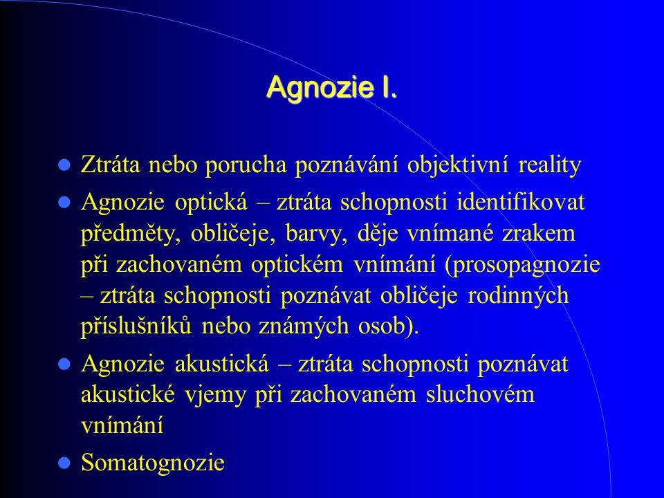 Agnozie I.