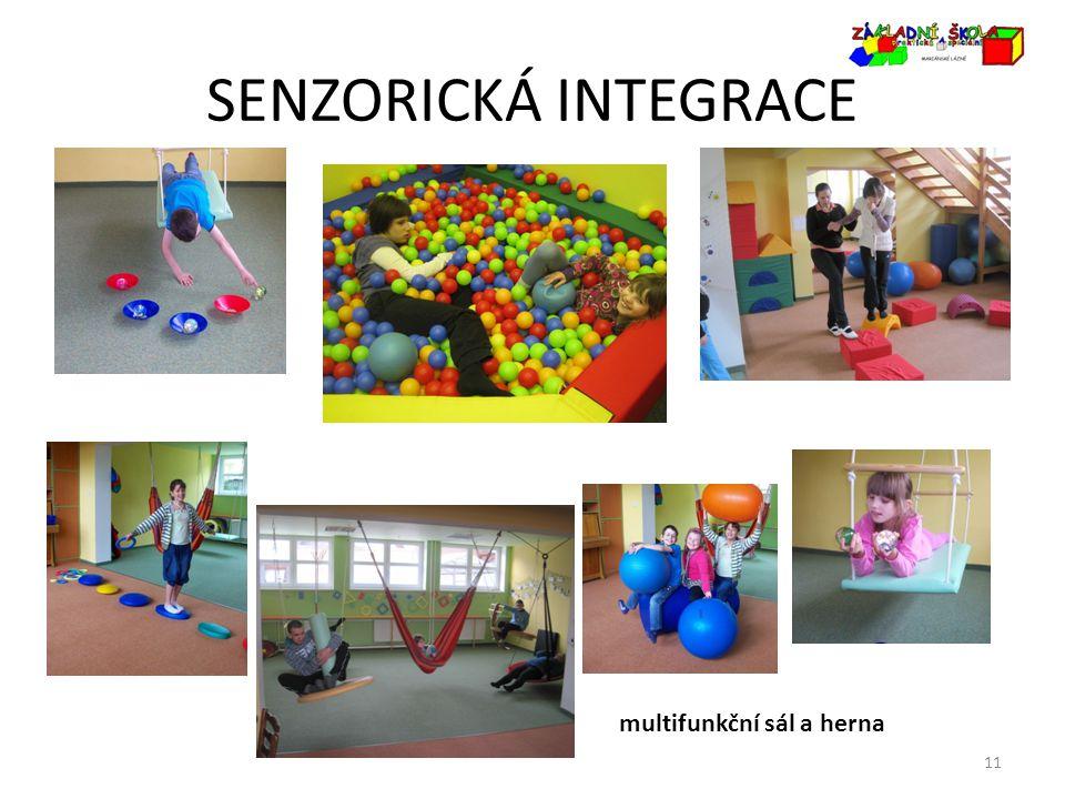 SENZORICKÁ INTEGRACE 11 multifunkční sál a herna