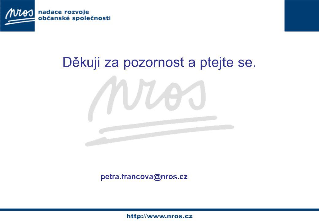 Děkuji za pozornost a ptejte se. petra.francova@nros.cz