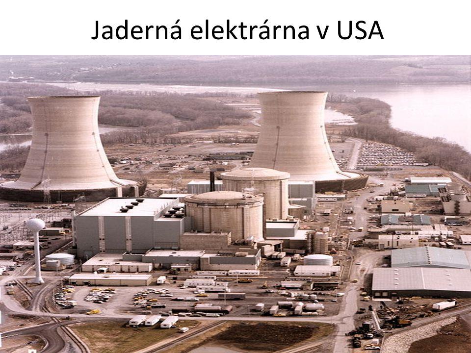 Jaderná elektrárna v USA