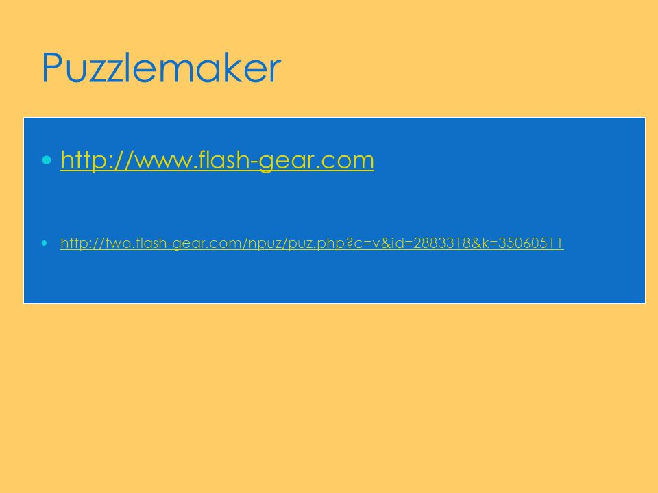 Puzzlemaker http://www.flash-gear.com http://two.flash-gear.com/npuz/puz.php?c=v&id=2883318&k=35060511