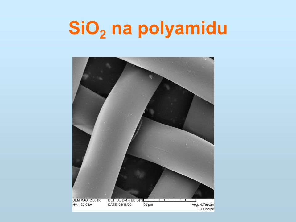 SiO 2 na polyamidu