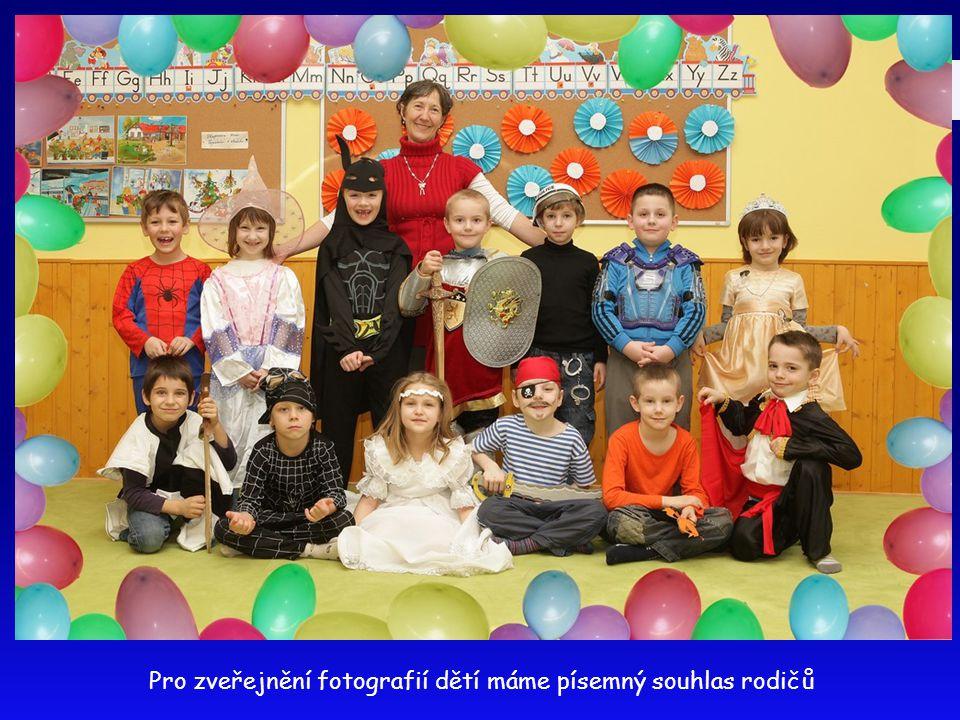 Pro zveřejnění fotografií dětí máme písemný souhlas rodičů
