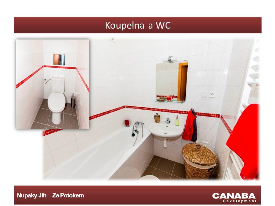 Nupaky Jih – Za Potokem Development Koupelna a WC