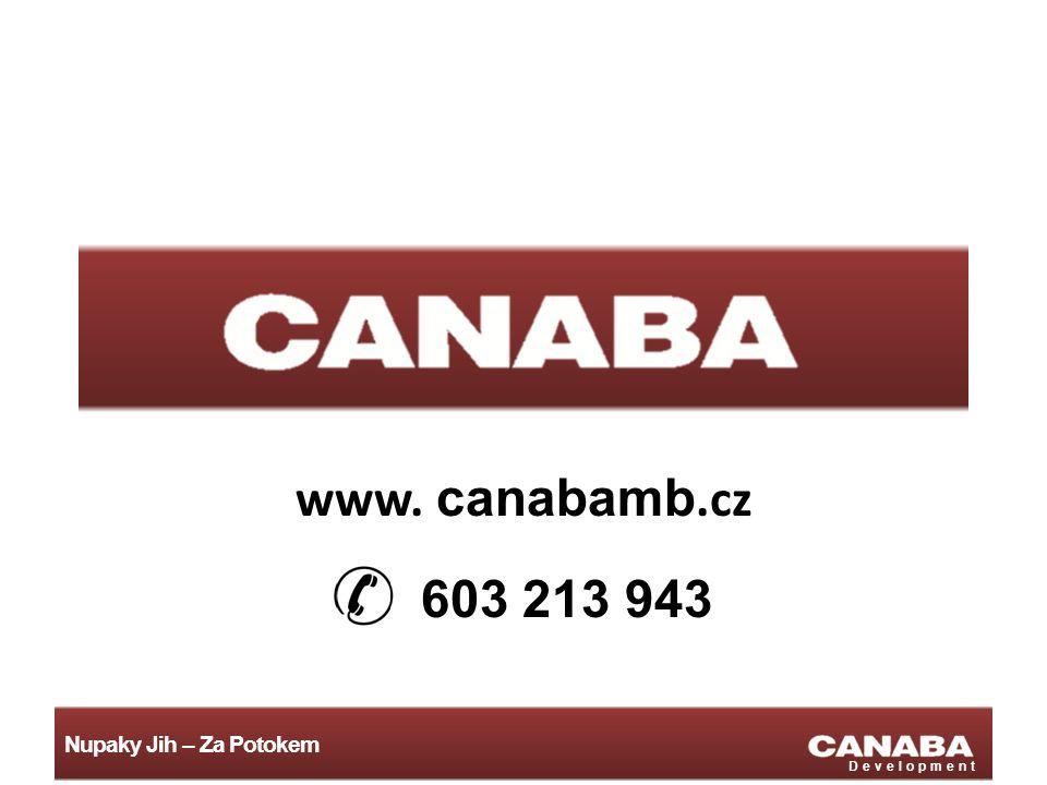 Nupaky Jih – Za Potokem Development www. canabamb.cz 603 213 943