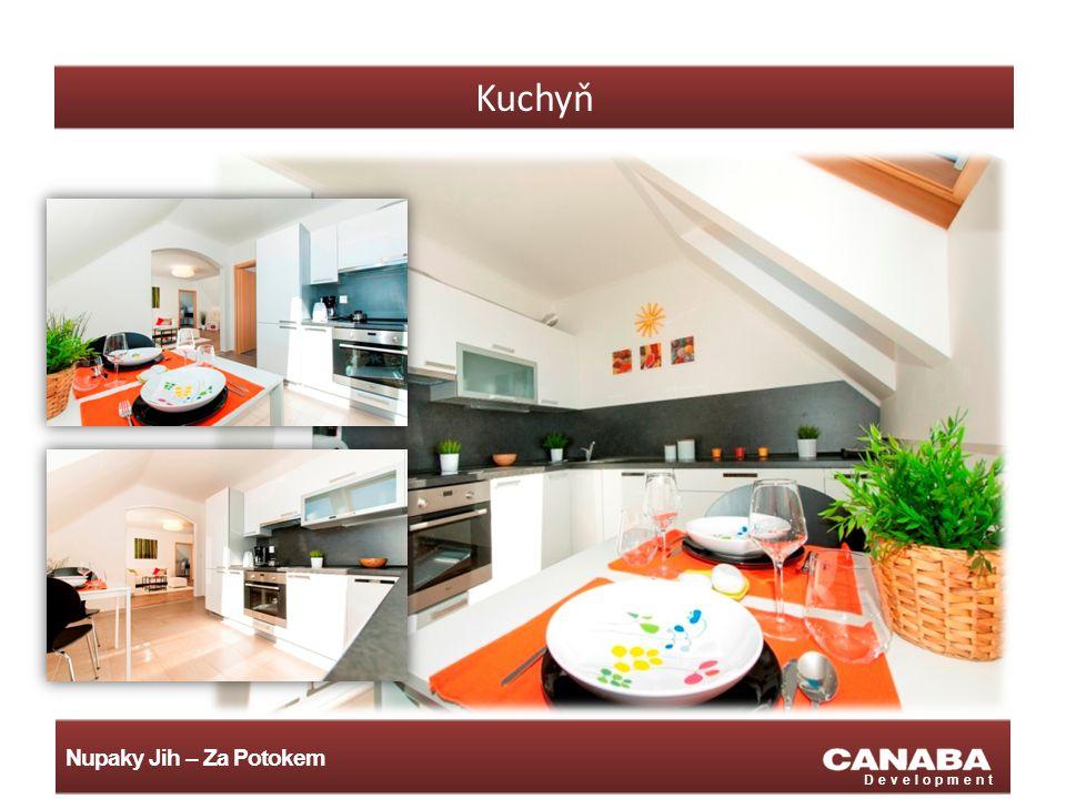 Nupaky Jih – Za Potokem Development Kuchyň