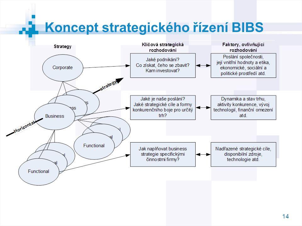 14 Koncept strategického řízení BIBS