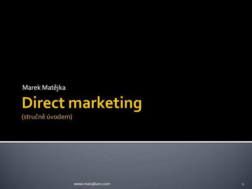  Marketingová komunikace se realizuje pomocí pěti standardních nástrojů: Nadlinkové nástroje – reklama Podlinkové nástroje – ostatní…, podnik si je zajistí sám www.matejkam.com2