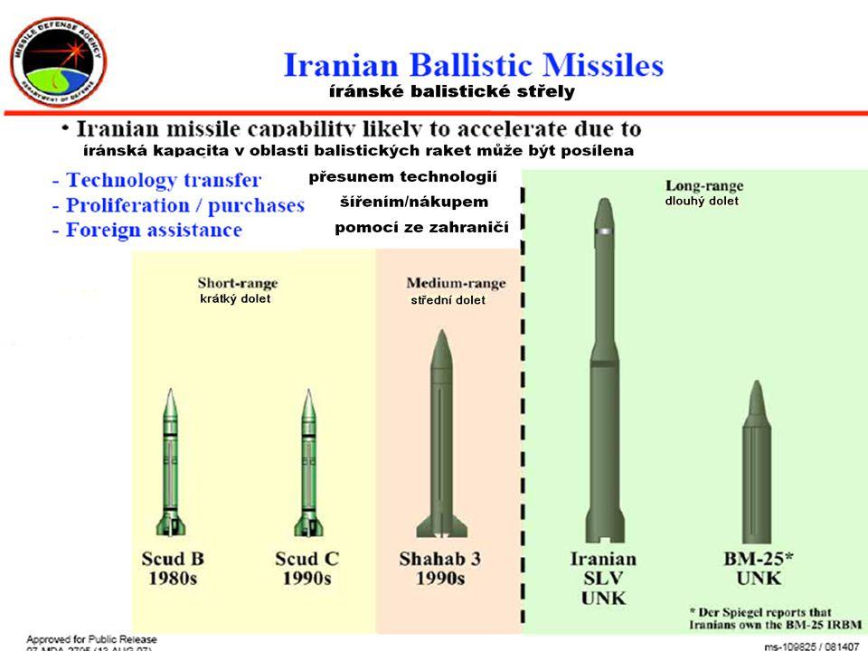 """""""Tato počáteční kapacita nepostačuje k obraně Spojených států před existující a očekávanou hrozbou darebáckých států. Protože musíme bránit tyto radary, nebo riskovat ztrátu """"očí našeho systému, plánujeme postavit v Evropě pozemní antirakety a související pozemní radarovou základnu pro sledování ve střední fázi letu."""