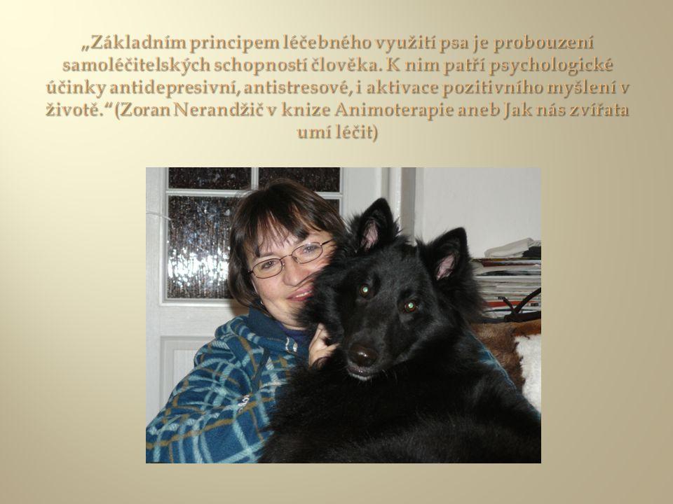 Canisterapie je způsob terapie, který využívá pozitivního působení psa na zdraví člověka (pojem zdraví je zde myšlen přesně podle definice WHO jako stav psychické, fyzické a sociální pohody).