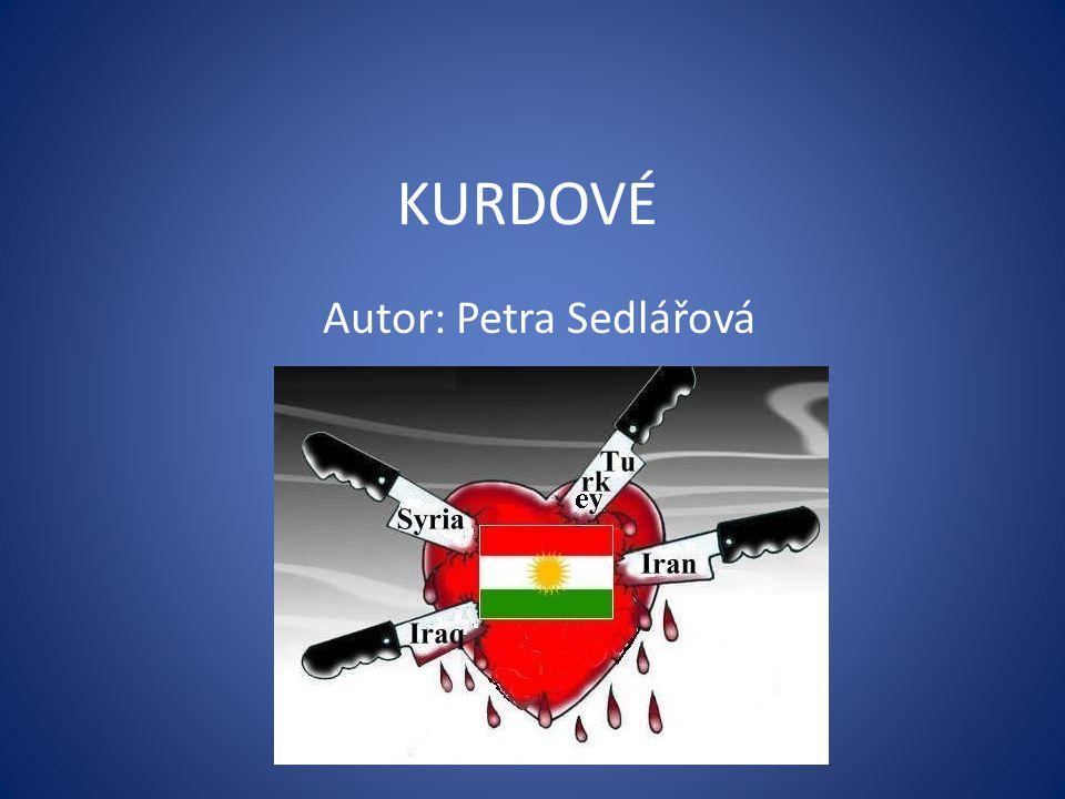 KURDOVÉ Autor: Petra Sedlářová