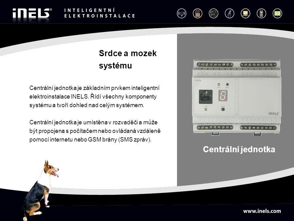 Centrální jednotka je základním prvkem inteligentní elektroinstalace INELS. Řídí všechny komponenty systému a tvoří dohled nad celým systémem. Centrál