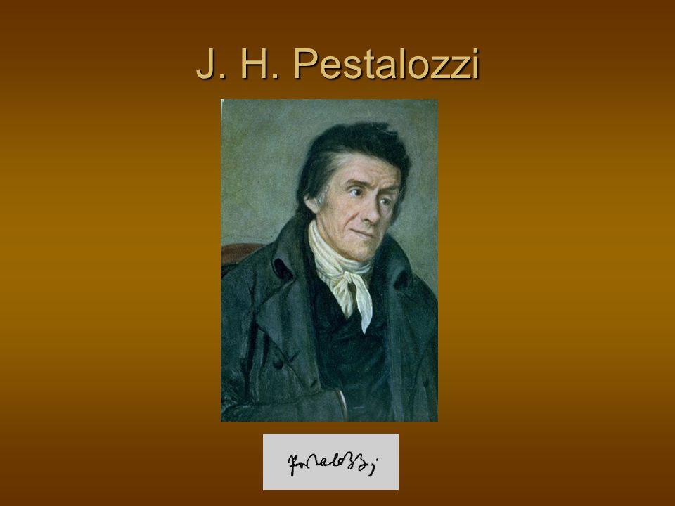 J. H. Pestalozzi