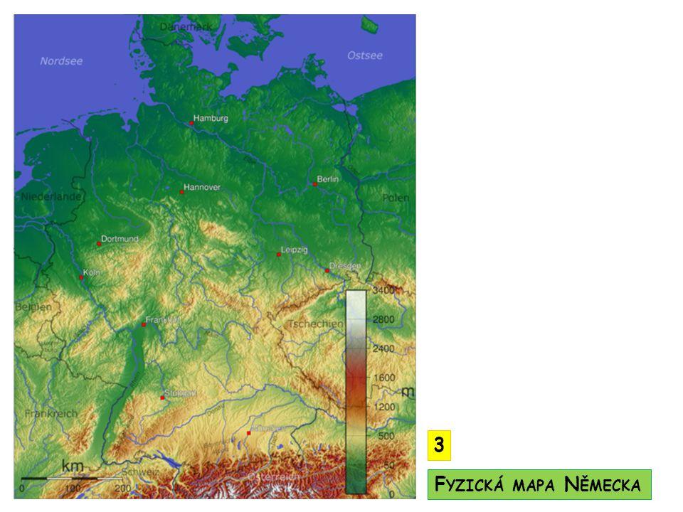 SV Baltské moře, SZ Severní moře Rýn (Mohan, Mosela, Neckar), Labe, Dunaj, Vesera významnou vodní cestou je průplav Rýn – Mohan – Dunaj (spojuje Černé a Severní moře napříč Evropou) Alpská ledovcová jezera - Bodamské podnebí - sever oceánské, jih kontinentální V ODSTVO P ODNEBÍ