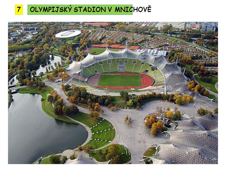 OLYMPIJSKÝ STADION V MNICHOVĚ7