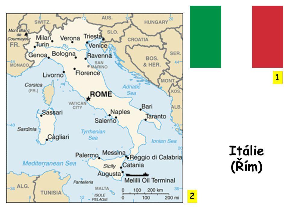 Apeninský a Kalabrijský poloostrov povrch převážně hornatý hraniční horou je Mt.